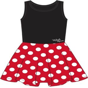 Disney Minnie Mouse Women's and Red Polka Dot Dress Large