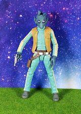 "Star Wars Black Series 6"" #07 Greedo Bounty Hunter Loose"