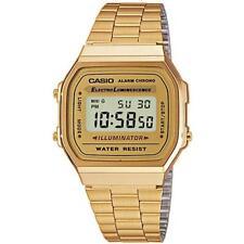 Casio A168 Classic Gold Digital LCD Retro Bracelet Watch