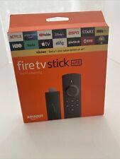 Fire TV Stick Lite with Alexa Voice Remote Lite (no TV controls) 2020 release