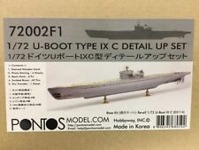 1/72 Pontos Models U-Boot Type IX C Super Detail Set for German U-Boat Submarine