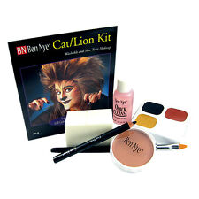 Ben Nye Cat Lion Kit Character Theatrical Stage Makeup HK-5