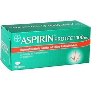 ASPIRIN Protect 100 mg magensaftres.Tabletten 98 St PZN 6706155
