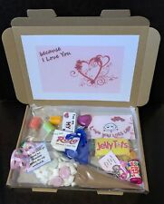 Valentines Personalised Hamper Gift Love You Lots Like Jelly Tots Birthday