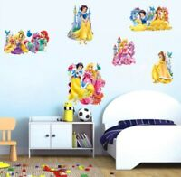 Disney Princes, kids wall stickers girls,wall sticker for kids self adhesive