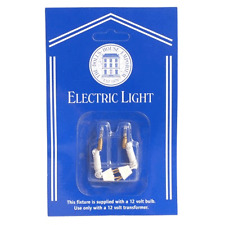 Dolls House Emporium 1/12th scale Candle Bulbs & Holders, 2 pieces 7430 New
