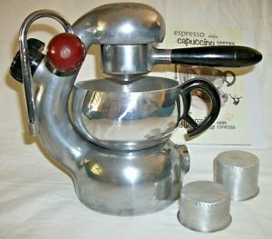 ATOMIC Coffee Cappuccino Maker Machine Home Espresso Badge