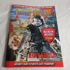 Playset Magazine no.91 Robin Hood Errol Flynn 54mm castle sets + MPC 7th cavalry