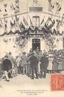 CPA 41 INAUGURATION DE LA NOUVELLE MAIRIE DE SAINT GEORGES SUR CHER 11 MARS 1906