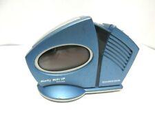 Soundesign Blue Wacky Wake Up Talking Alarm Clock 3131L. Tested.