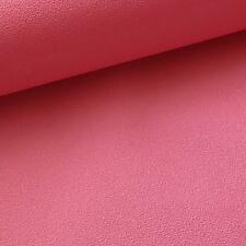 Hot Pink Plain Wallpaper Textured Luxury Girls Bedroom Nursery Paste the Wall