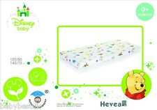 Disney Baby Cot Bed Fitted Sheet - 120x60cm - Winnie the Pooh - 100% cotton