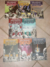 IMAGE THE WALKING DEAD GRAPHIC NOVEL 8 COMIC BOOK LOT 1-4, 9-12