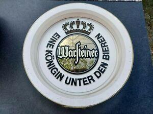 Warsteiner Bier beer Fassboden Logo Schilder Selten Wanddeko Bar Gastro Deko