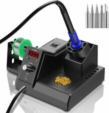 Soldering Station 80W Digital Soldering Iron Kit with Smart Temperature control