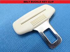 SUZUKI CREAM SEAT BELT ALARM BUCKLE KEY CLIP SAFETY CLASP STOP