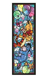 456 pieces Jigsaw Puzzle Winnie the Pooh Stained Glass Gutto Series Japan New