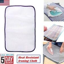 Mesh Garment Ironing Pressing Cloth Protect Guard Heat Resistant Iron Pad40X60Cm