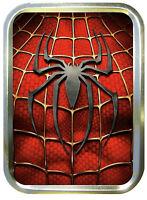 Spiderman Tin  2oz Gold Tobbaco Tin, Storage Box, Superhero