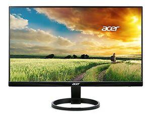 Acer R240HY bidx 23.8-Inch IPS HDMI DVI VGA (1920 x 1080) Widescreen Display