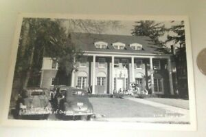 Vintage 1956 University of Oregon Sigma Nu Fraternity Real Photo Postcard