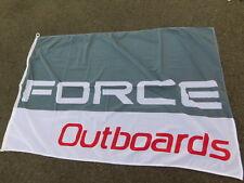 DRAPEAU flag FORCE OUTBOARDS MOTEUR marine BATEAU ship boat motor engine COMPANY