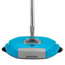Beldray LA047151 Lightweight Spinning Sweeper, 105cm, Stainless Steel, Turquoise