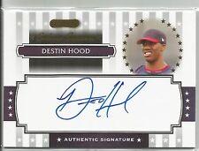 Destin Hood Cleveland 2008 Razor Signature Autograph