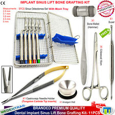 Dental sinus Offset Concave Osteotomes Implant Inlay Buser Surgical Forceps