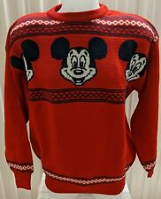 Rare Dale of Norway Disney Mickey Mouse Wool Sweater - Pullover Style - Size L