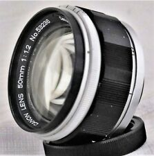 Canon 50mm F/1.2 Lens L39 LTM Leica Screw Mount Very Good Condition