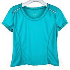 Athleta Yoga Workout Activewear Gym Short Sleeve Shirt - Womens Size S