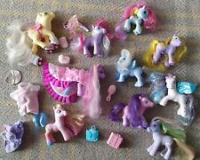 Vintage My Little Ponies * pony & accessories * old toys * Next day post