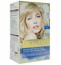 L'OREAL PARIS EXCELLENCE Permanent HAIR COLOR CREME 03 Ultra Light Ash Blond