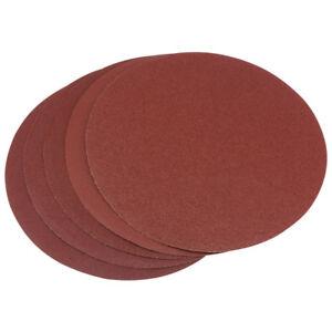 "Draper 5x 200mm self-adhesive sanding discs for 50021 sander 8"""