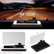 "7"" Screen Car GPS Navigation Holder HUD Head Up Display Projector Phone Bracket"
