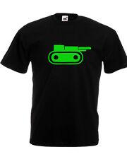 T-shirt RISIKO gioco carro armato guerra rosso verde giallo nero uomo bambino