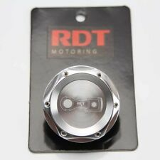SILVER ALUMI. ENGINE OIL CAP COVER FITS HONDA CIVIC CRX DEL SOL ACCORD PRELUDE