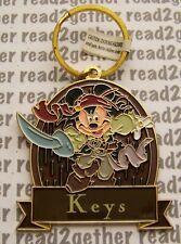 Disneyland Resort Key Chain Pirates of the Caribbean Mickey as Jack Sparrow Keys