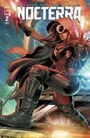 Nocterra #2 cover ZA Thank you variant Image Comics 1st Print unread NM