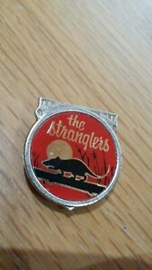 The Stranglers Vintage 1970s Classic  Badge Pin Button Punk New Wave by CLUBMAN