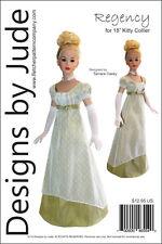 "Regency Dress Pattern for 18"" Kitty Collier Dolls Tonner"