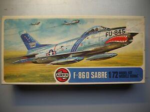 North American F-86D SABRE DOG  1/72 AIRFIX  1978