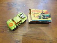 Matchbox No.13 Baja Buggy Black Exhausts Boxed (sort of)