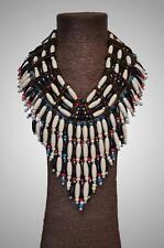 ETHNIC TRIBAL INDIAN NATIVE AMERICAN Unisex Beaded Plastic NECKLACE BODY JEWELRY