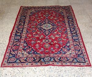 %100 Handgeknüpte Wolle Orient Teppich 155 x 103 cm