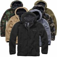 Brandit Teddyfleece Worker Jacket Outdoor Winterjacke Jacke S-5XL