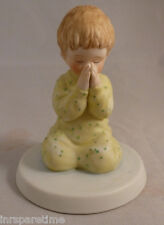 """A Child'S World """"Nighttime Thoughts"""" Porcelain Figurine By Frances Hook/Roman"""