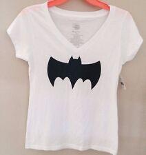 Ladies Batman / Batgirl Logo DC Comics TShirt XXLarge 19 Black Glitter 2XL