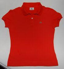 Sommerfarbe 2017 Lacoste Polohemd orange Gr Fr 38 D 36 Poloshirt 100% Original